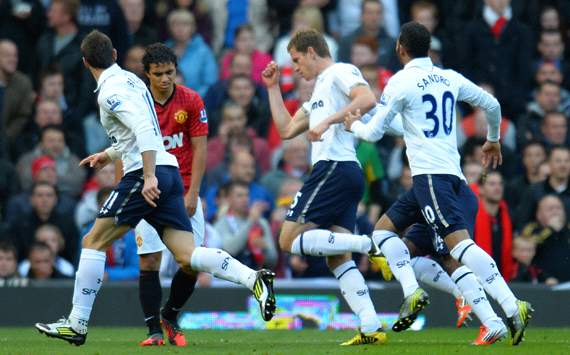 EPL: Gareth Bale - Rafael Da Silva - Jan Vertonghen, Manchester United v Tottenham