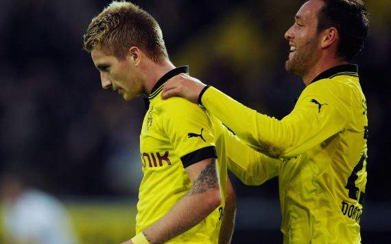 Marco Reus and Julian Schieber, Dortmund