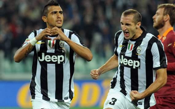 Arturo Vidal - Juventus-Roma - Serie A