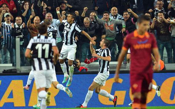 Juventus celebrating - Juventus-Roma - Serie A