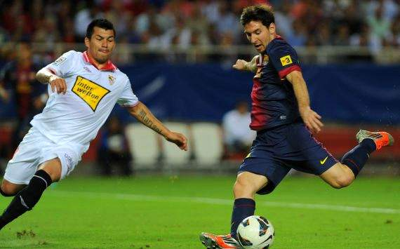 Messi gegen Sevilla