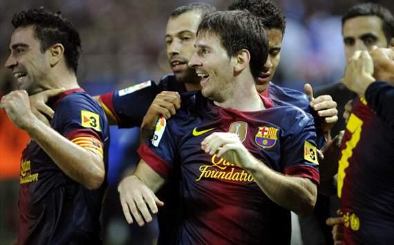 Sevilla 2-3 Barcelona : Lionel Messi