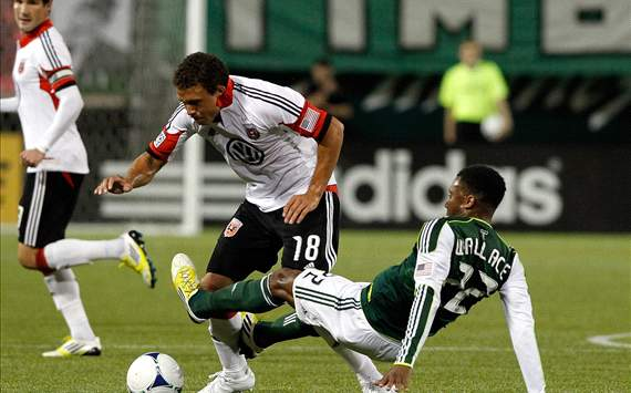 Nick DeLeon, D.C. United; Rodney Wallace, Portland Timbers; MLS
