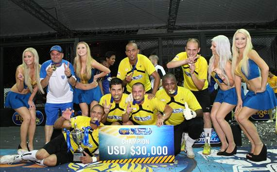 Brazil team wins 2012 Tiger Street Football