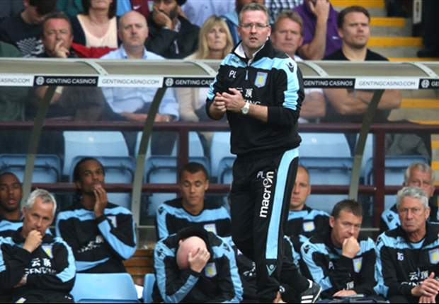 Lambert insists dropping Bent was right decision for Aston Villa