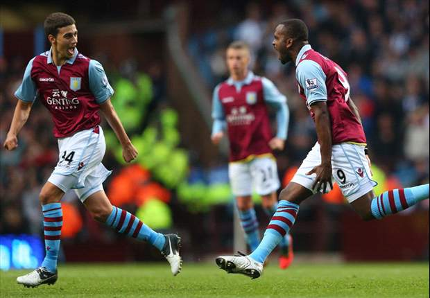 Lambert plays down Bent's exclusion from Aston Villa starting XI