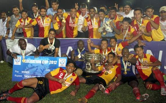 East Bengal are Federation Cup champions!