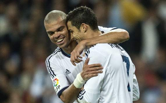Pepe: &quot;Cristiano Ronaldo es el mejor del mundo&quot;