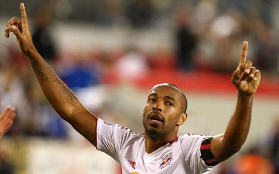 Thierry Henry is not returning to Arsenal on loan, claims New York Red Bulls chief Houllier