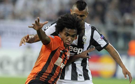 Willian - Shakhtar-Juventus - Champions League