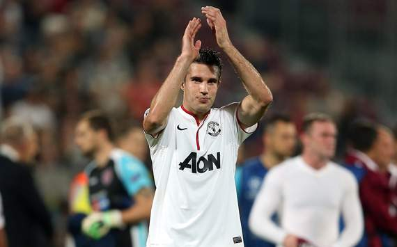 CL - Group H, CFR CLUJ-MANCHESTER UNITED, Robin van Persie