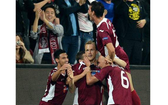 CFR Cluj - MAN United