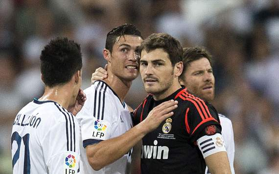 Cristiano Ronaldo and Iker Casillas - Real Madrid vs. Barcelona