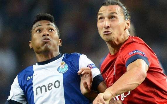 Champions League : Alex Sandro vs Zlatan Ibrahimovic (FC Porto vs Paris SG)