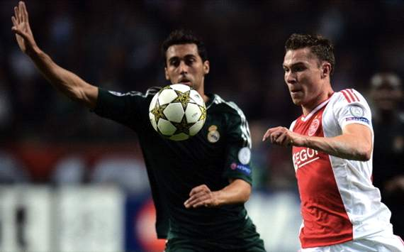 Alvaro Arbeloa vs Derk Boerrigter, Ajax - Real Madrid