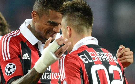Boateng &amp; El Shaarawy - Milan