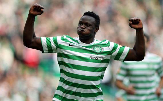 Wanyama dismisses Manchester United transfer claims, says he is happy at Celtic