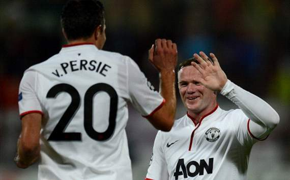 Robin Van Persie Senang Kompak Dengan Wayne Rooney