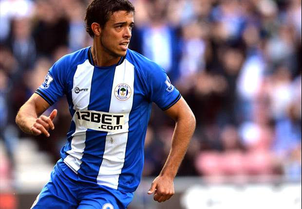 Wigan striker Di Santo 'honoured' by maiden Argentina call-up