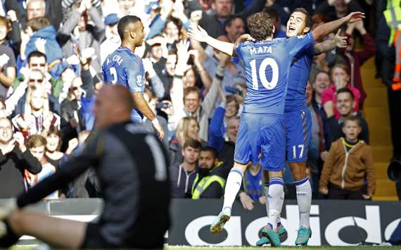 Premier League Team of the Week: Hazard & Mata star as Chelsea move four points clear at the top