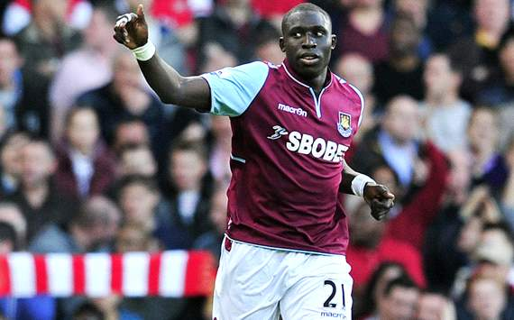 EPL; Mohamed Diame; West Ham United Vs Arsenal