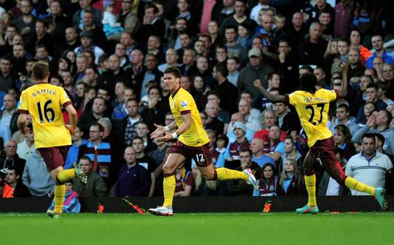 EPL, West Ham United v Arsenal, Olivier Giroud