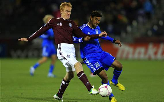 Jeff Larentowicz, Colorado Rapids; Chris Wondolowski, San Jose Earthquakes; MLS