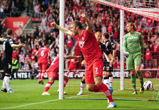 Rickie Lambert seals Southampton contract extension until 2016