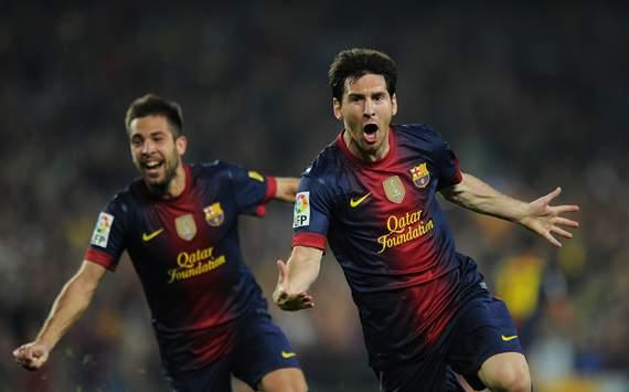 Jordi Alba, Lionel Messi, Barcelona, Real Madrid
