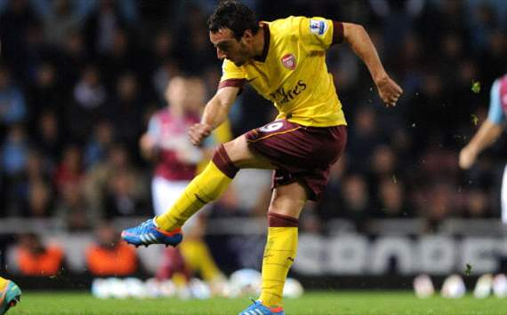 Arsene Wenger est encantado con Santi Cazorla