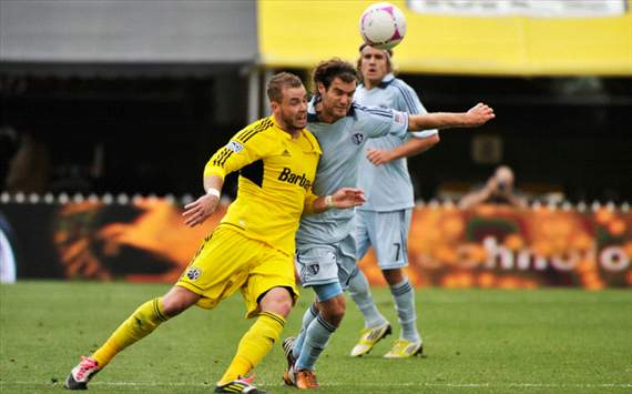 Josh Williams, Graham Zusi, Sporting Kansas City, Columbus Crew, MLS