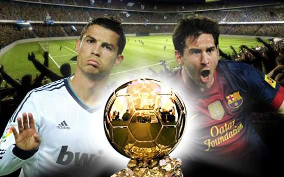 Cristiano Ronaldo y Leo Messi (Fotomontaje)