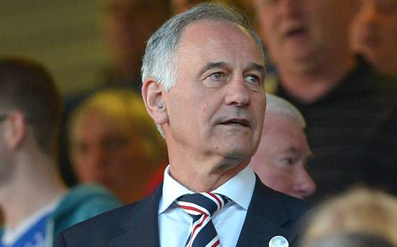 Rangers chief executive Charles Green apologises to Aston Villa