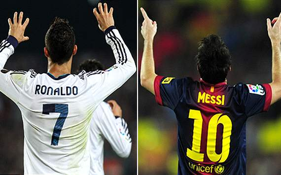La Liga Team of the Week: Messi &amp; Ronaldo on fire ahead of the Clasico