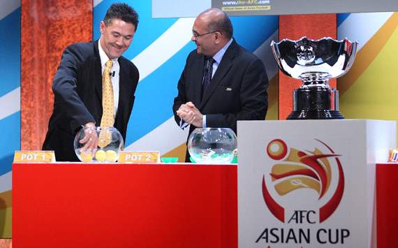 Alan Davidson - 2015 AFC Asian Cup qualifying draw