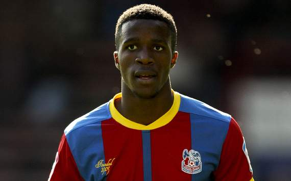 Crystal Palace star Wilfried Zaha: Arsenal or Manchester-bound? courtesy: goal.com