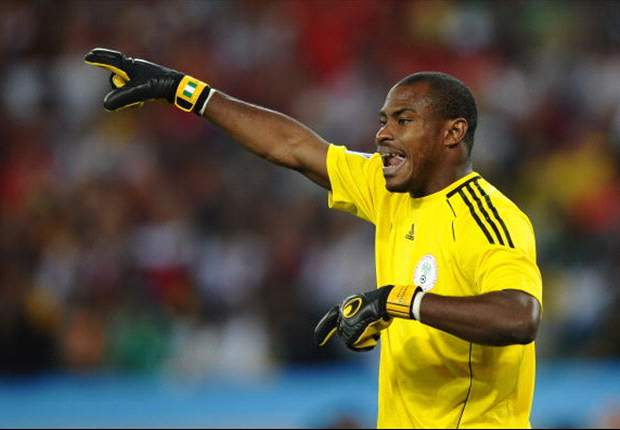 Vincent Enyeama has arrived camp for Sunday's important game