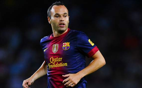 Iniesta reveals favourite Madrid player