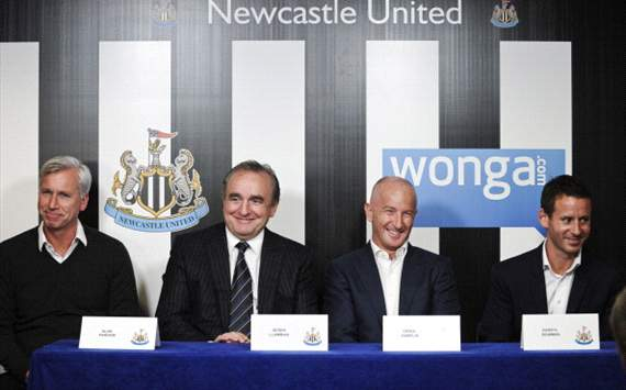 Llambias thrilled with Newcastle's Wonga sponsorship deal