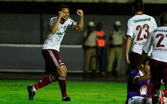 Brasileiro Round 30: Fred & Gum strike late to maintain Fluminense's nine-point advantage