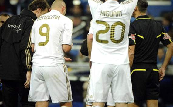 Morientes worried for Higuain and Benzema