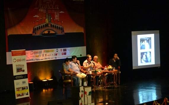 """Seminar """"Il Calcio con GOAL"""" di Universitas Indonesia (GOAL.com/Ist)"""