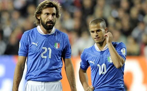 Pirlo & Giovinco - Italy