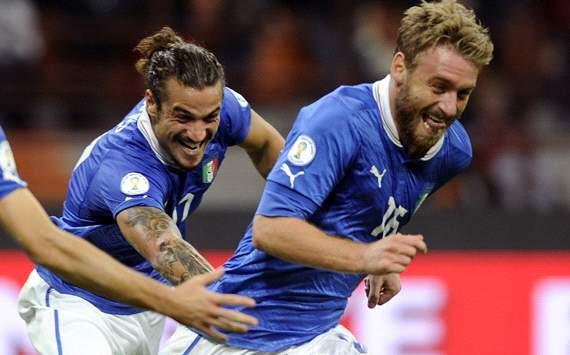 De Rossi & Osvaldo - Italy