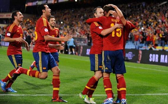 Sergio Ramos, Andrs Iniesta - Spain