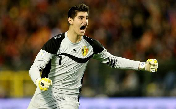 Courtois: No pressure on Atletico Madrid