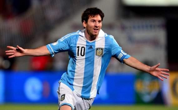 Messi - Argentina-Chile