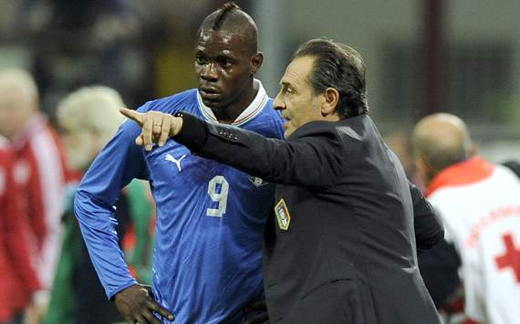 'Extraordinary' Balotelli showing great focus, says Prandelli