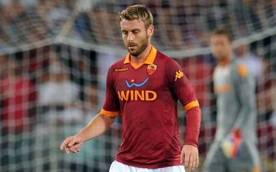 Roma will not sell De Rossi, says Baldini