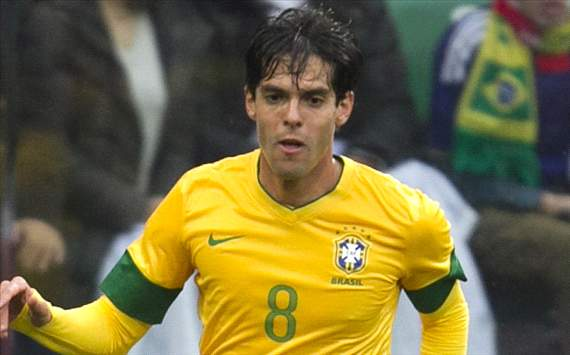 Kaka to keep place in Brazil squad for Colombia friendly